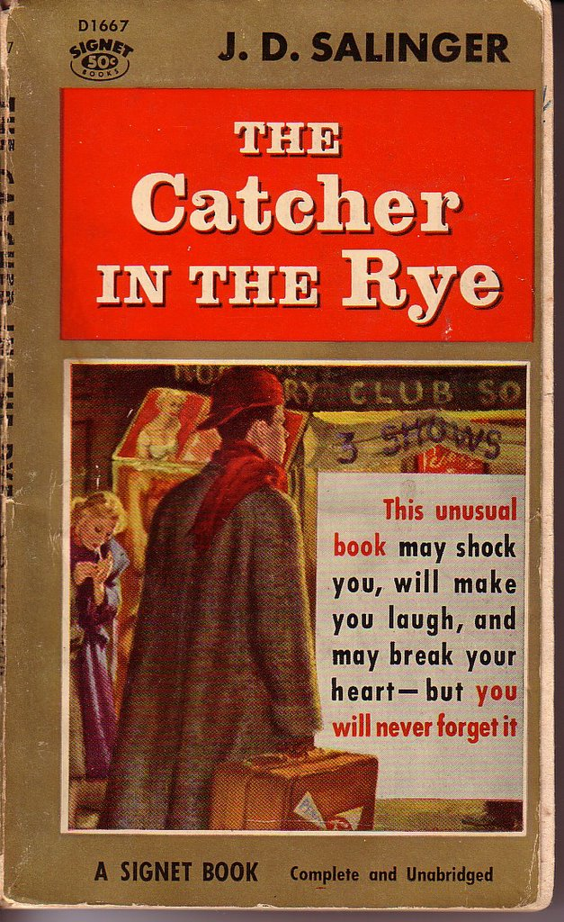"catcher in the rye humanity Human contact and love, but his protective wall of bitterness the ""catcher in the rye"" he imagines a field of rye perched high on a cliff, full."