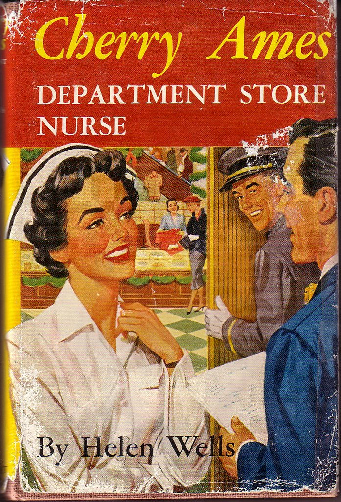 7 CHERRY AMES NURSE Books 1940/50's